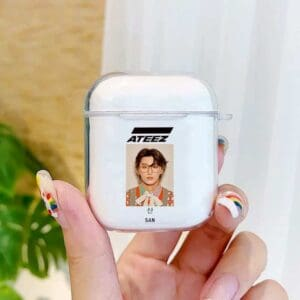 ATEEZ HongJoong SeongHWA Earphone Case for Aipods 1 2 Soft Cover
