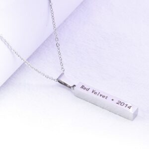 Stray kids Name and Debut Year Necklace – Stray kids