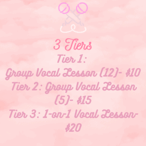 Top Tier K-pop Vocal Lesson (1-on1) with adrismusicbox